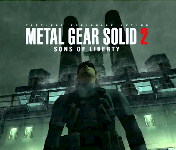 Paras Snake? Metal Gear Solid 2: Sons of Liberty