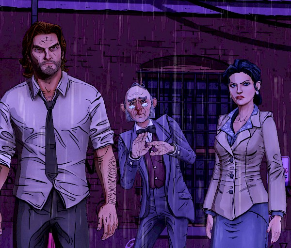 Wolf Among Us Episode 3: A Crooked Mile  ja The Walking Dead Season 2 Episode 2: A House Divided