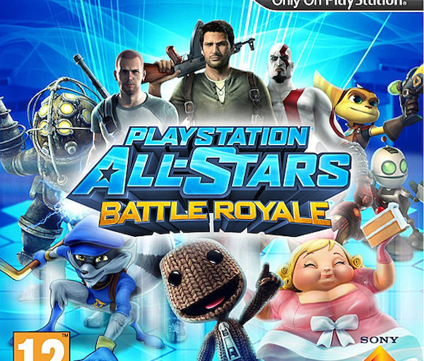 Playstation All-Stars Battle Royale (PS3) – Maskotit tanassa