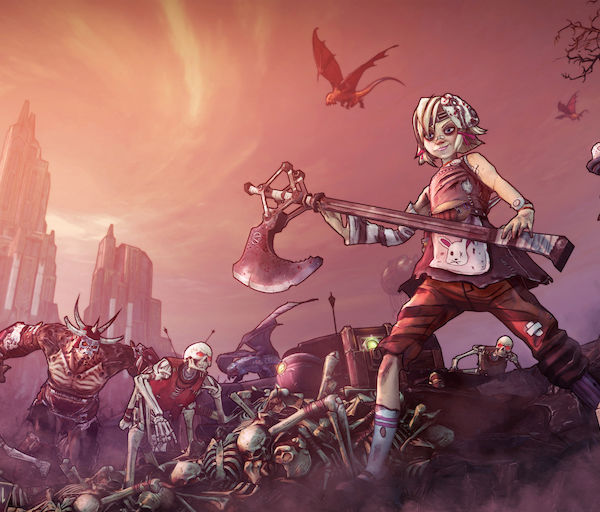Borderlands 2: Tiny Tina's Assault on Dragon Keep & Psycho Pack (PC) – Pikku Tiinan tähtihetki