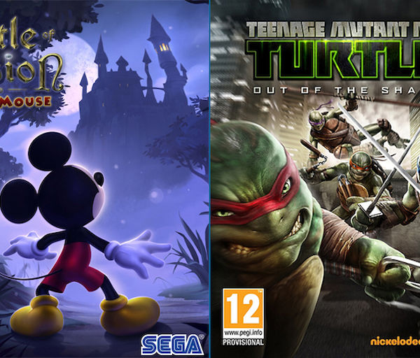 Castle of Illusion Starring Mickey Mouse HD (PC) – Hiiriä ja ninjakilpikonnia