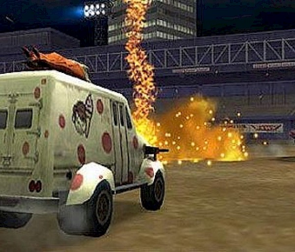 Twisted Metal: Head On (PSP) – Betoni murtuu