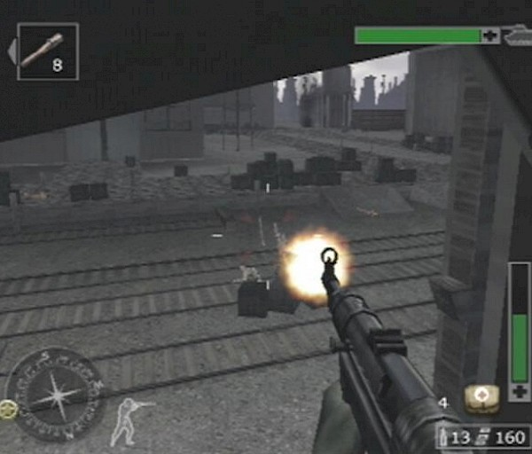 Call of Duty: Finest Hour (Xbox, PS2, Gcube, N-Gage) – Sodan keskipisteessä