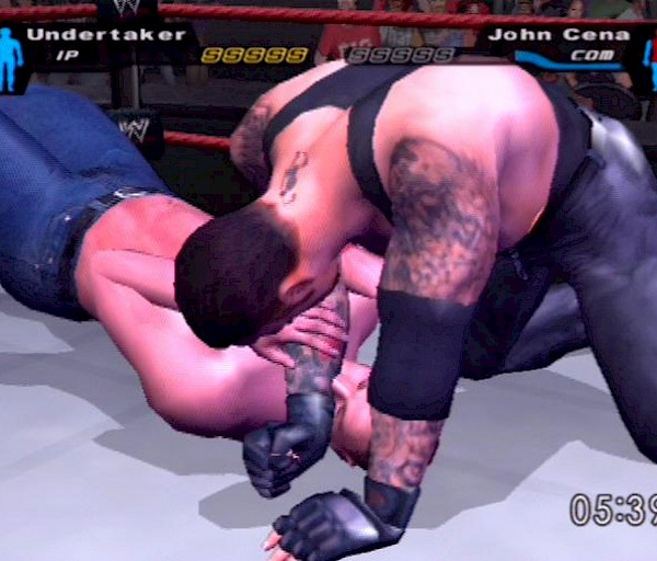 WWE SmackDown! Here Comes the Pain (PS2) – Smack yo bitch up