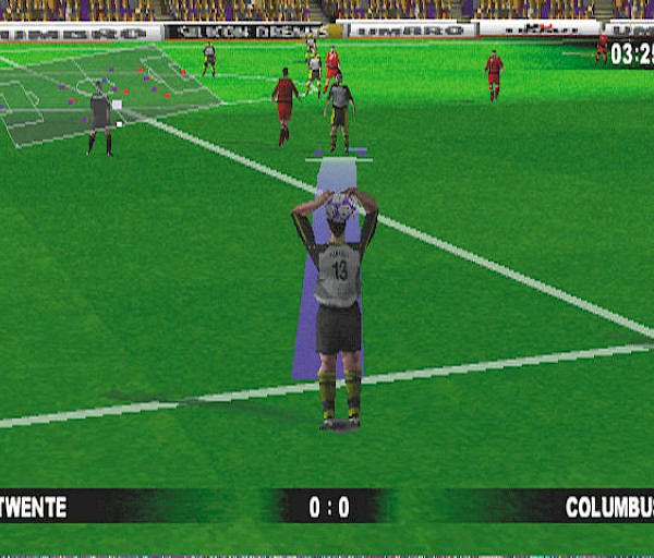 Michael Owen's World League Soccer 99 (PSone) – Michaelin maailma