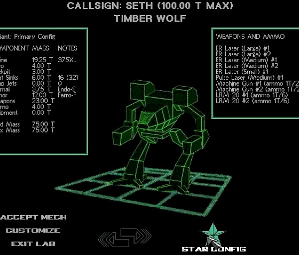 Mechwarrior 2 – Metalliliitto