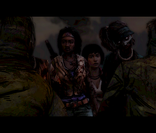 Walking Dead Michonne, Episode 2: Give No Shelter & Episode 3: What We Deserve - Risti sun rintaas, miekka mun tuppeen