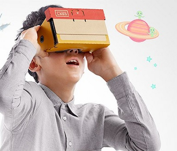 Nintendo Labo tuo VR:n Switchille