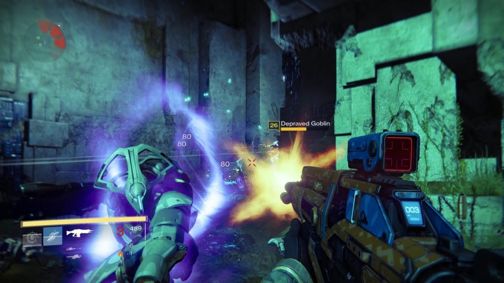 Playstation-eksklusiivisessa Strike-tehtävässä kohdataan muinaisia Vexejä.