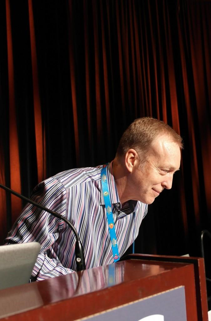 Eugene Jarvis Game Developers Conferencessa vuonna 2014