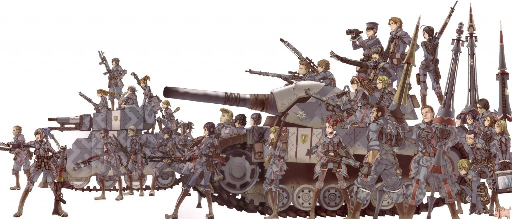 Valkyria Chronicles_art