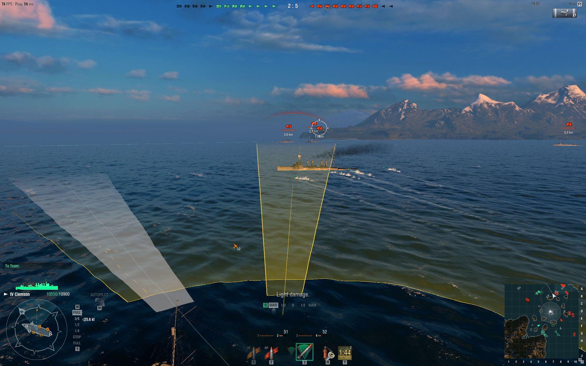 World of Warships_torpedo